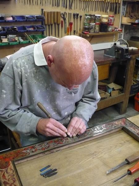 Workshop restauratie antieke meubels