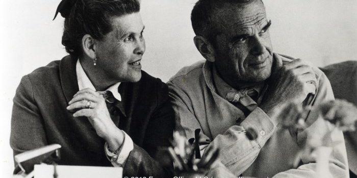 Charles Eames en  Ray Eames