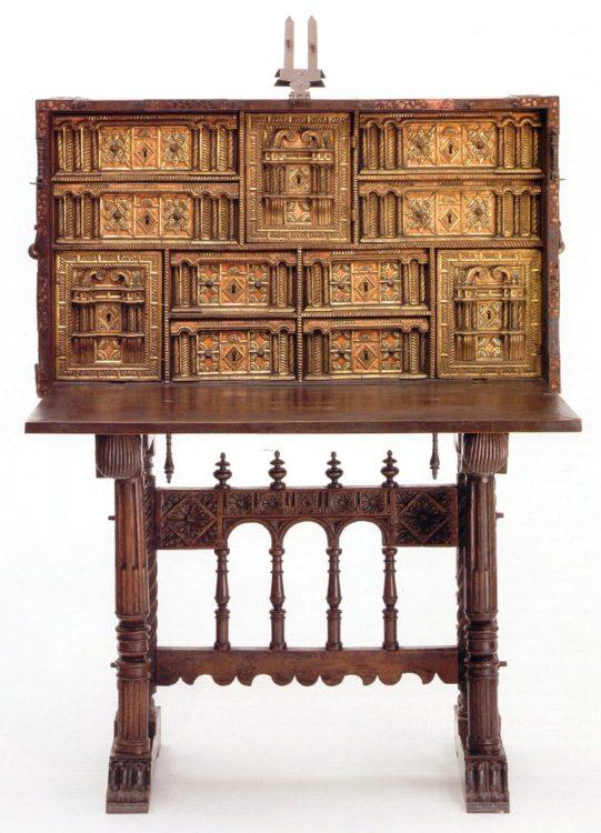 De verkoop van antiek for Meubilair engels