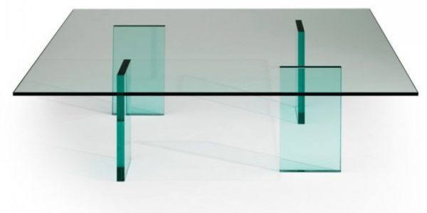 Kuramata Glass Table,, 1976